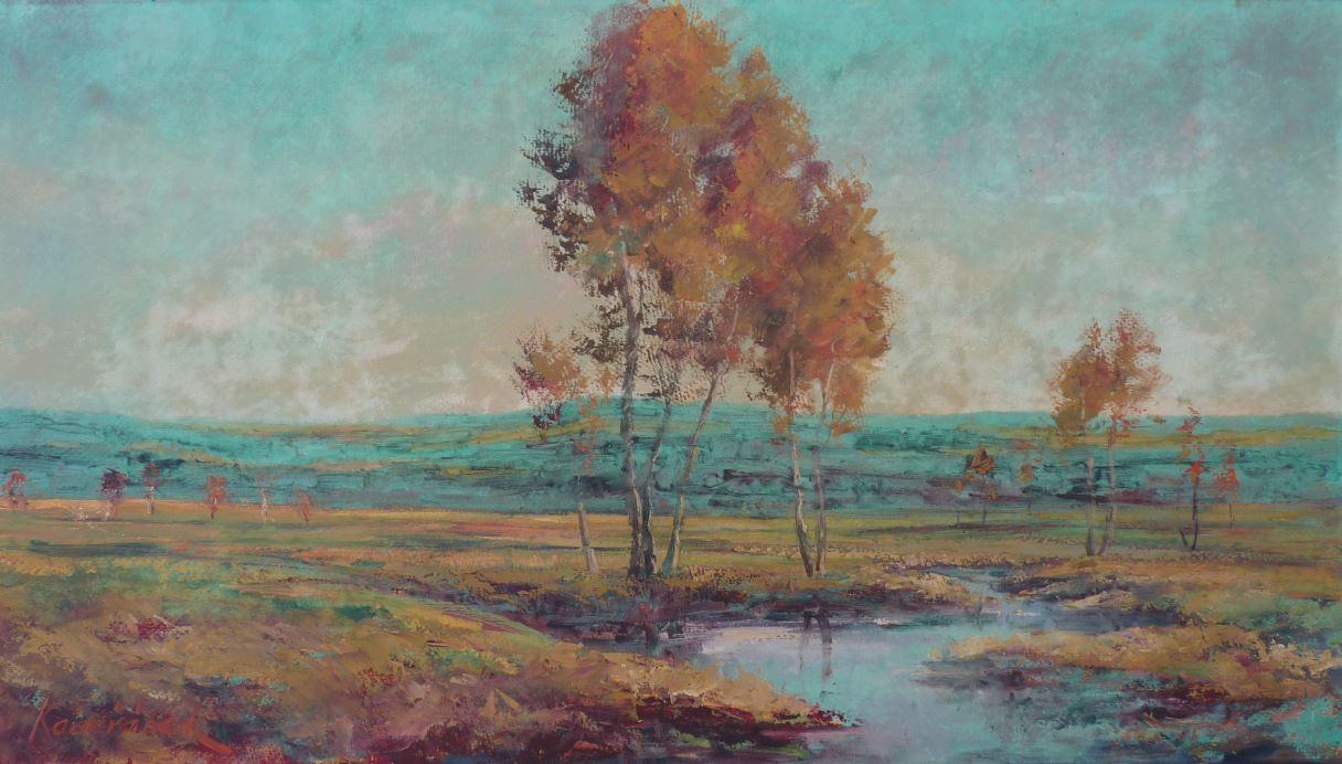 Potůček na podzim