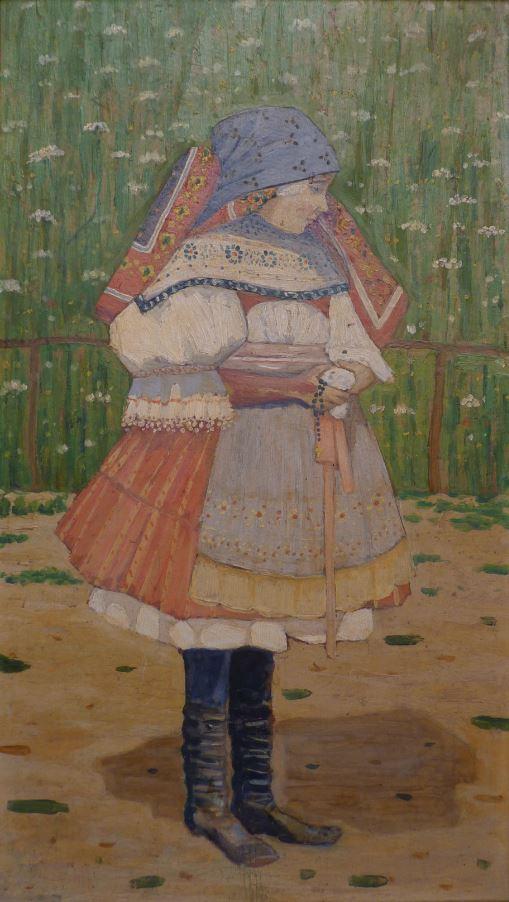 Krojovaná dívka