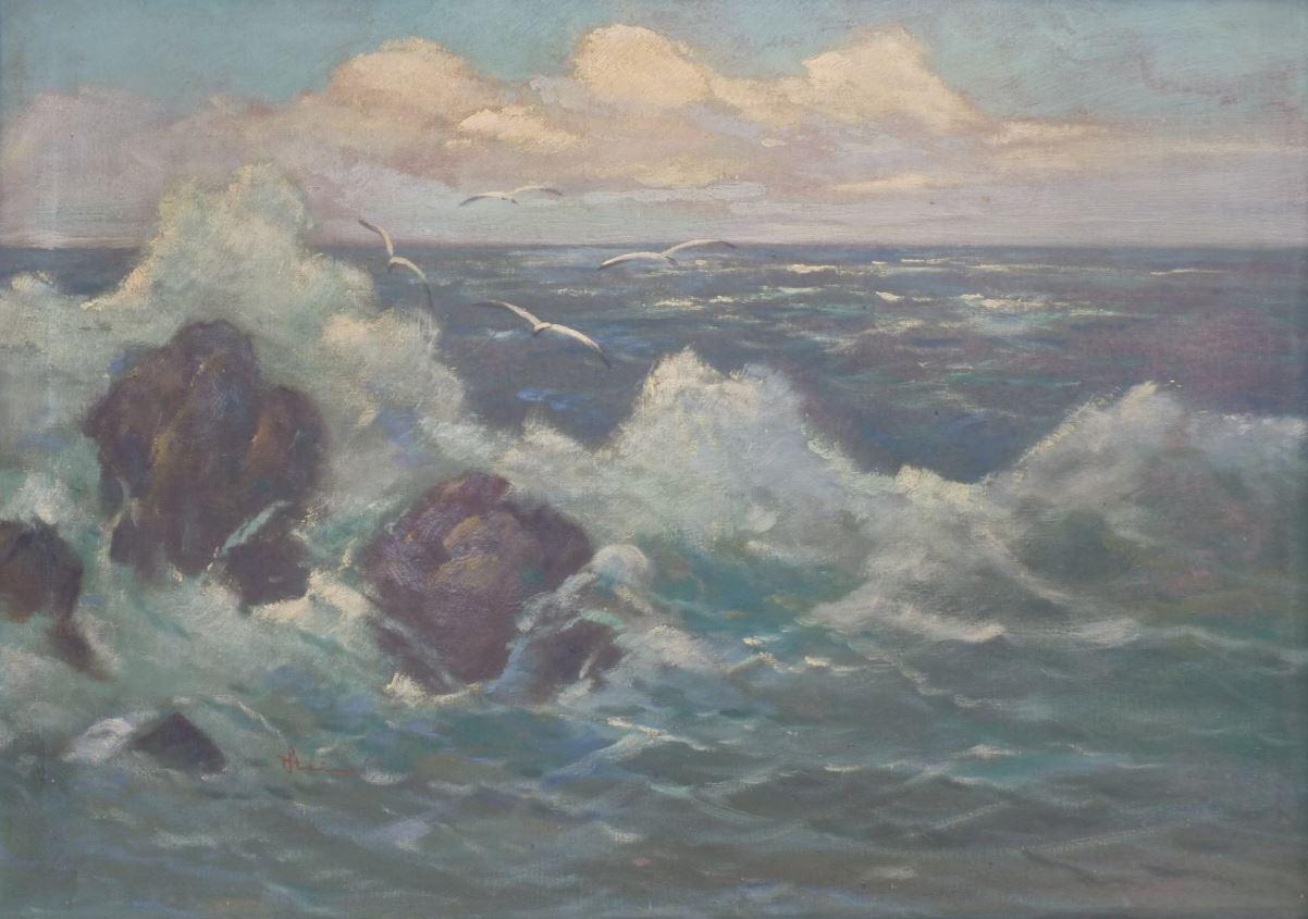 Mořský příboj