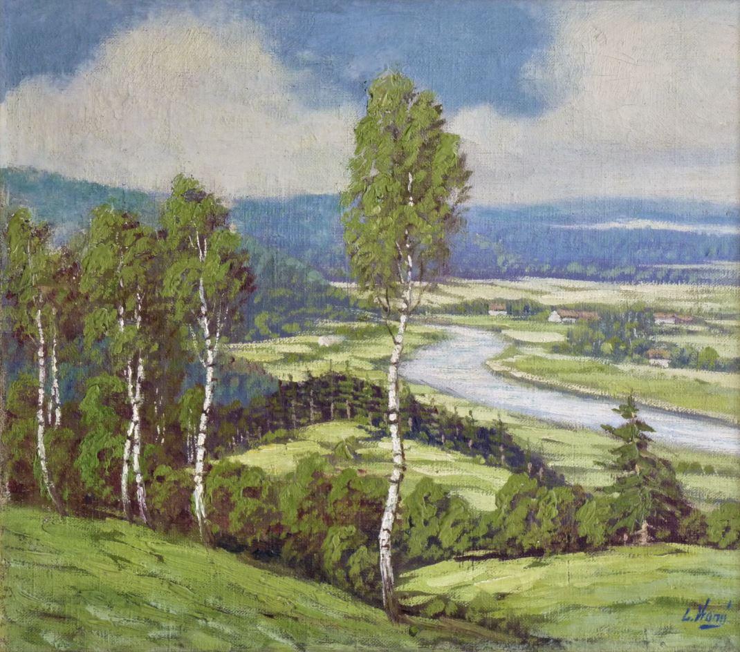 Osada u řeky