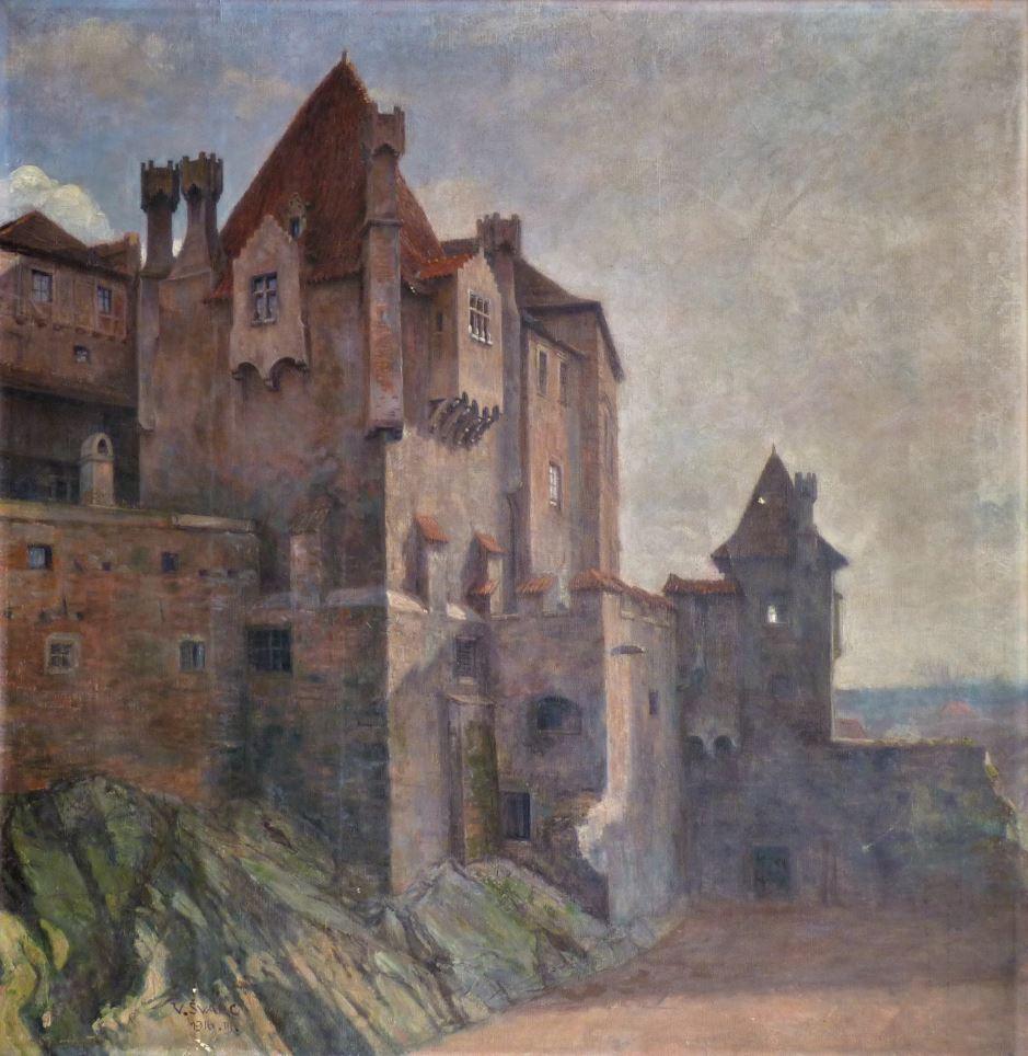 Menhartova věž v Jindřichově Hradci
