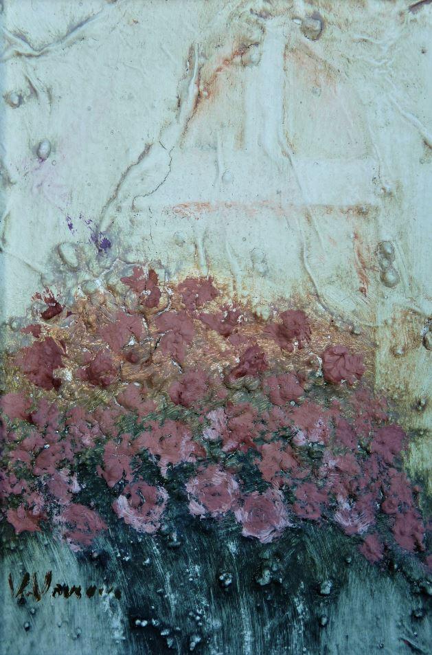 Květiny u okna