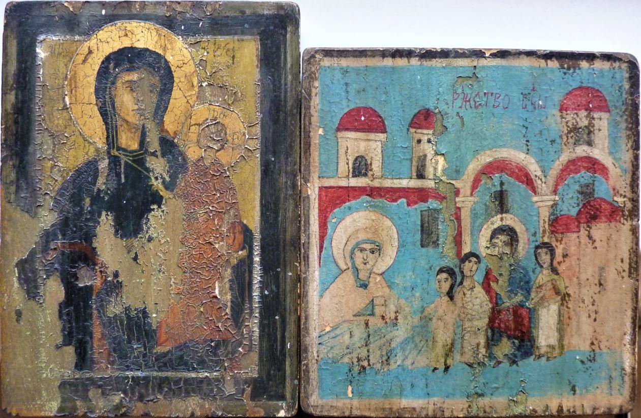 2 pravoslavné ikony