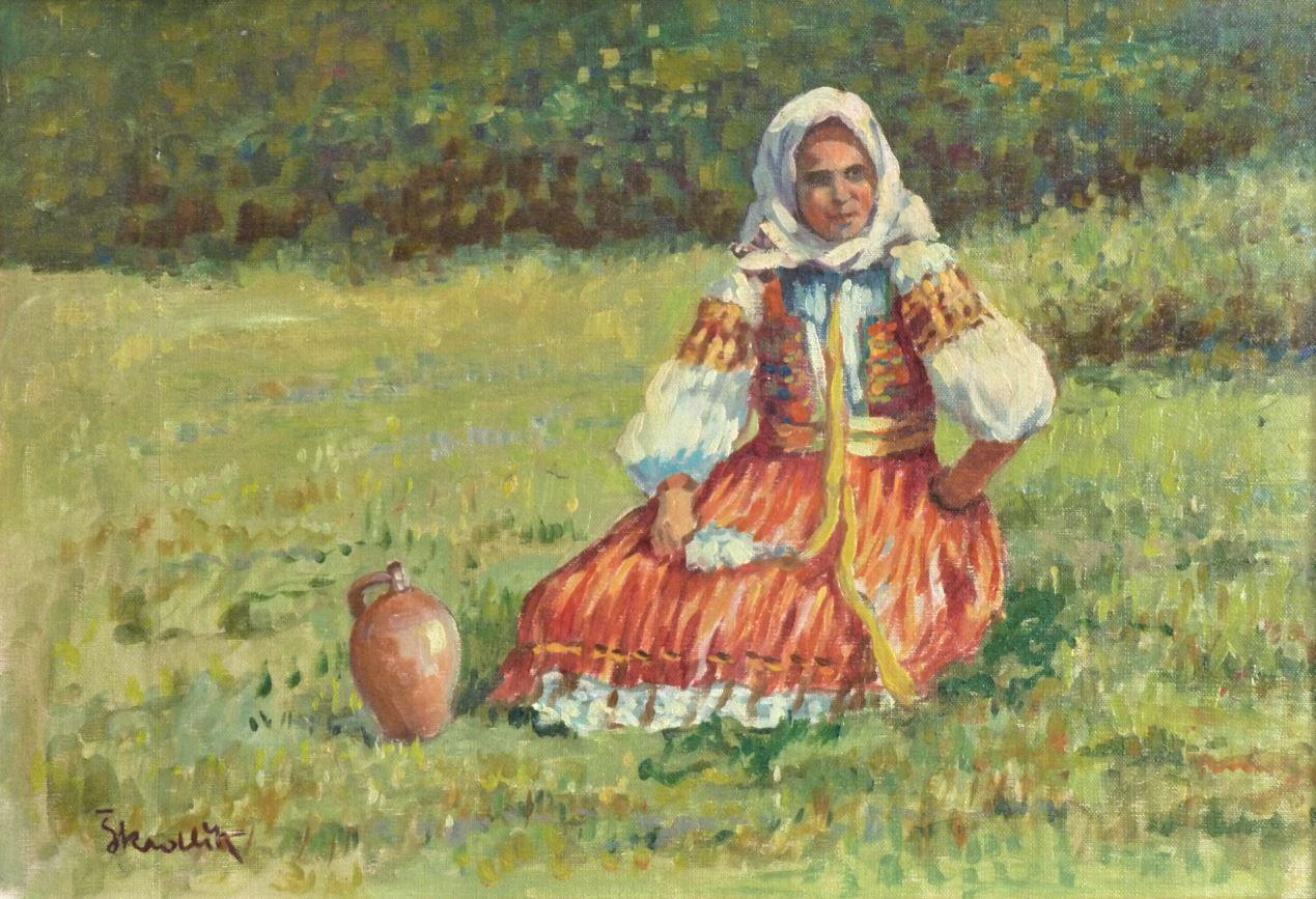 Dívka ze Slovácka