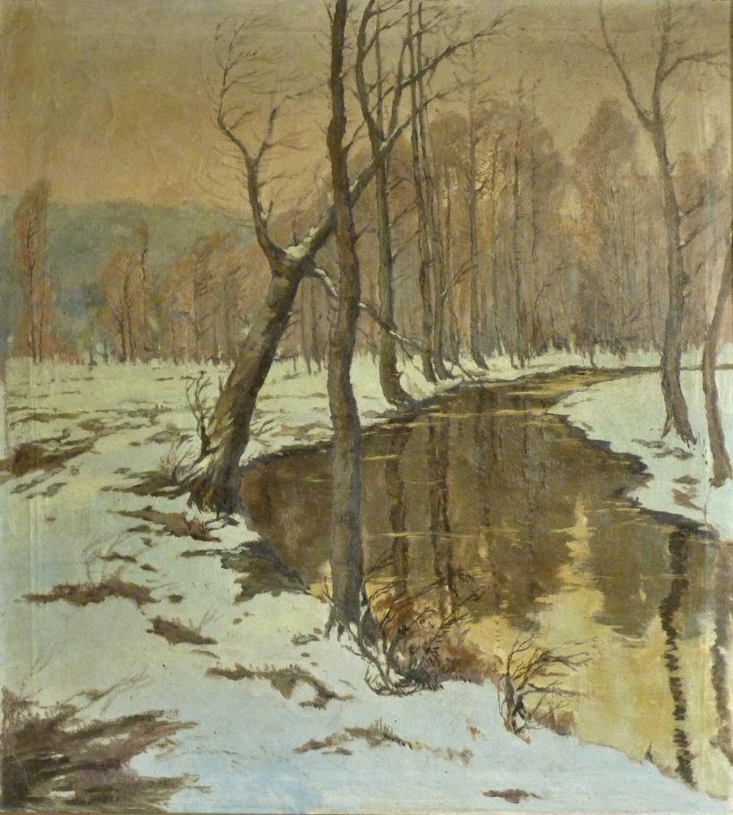 Zimní potok