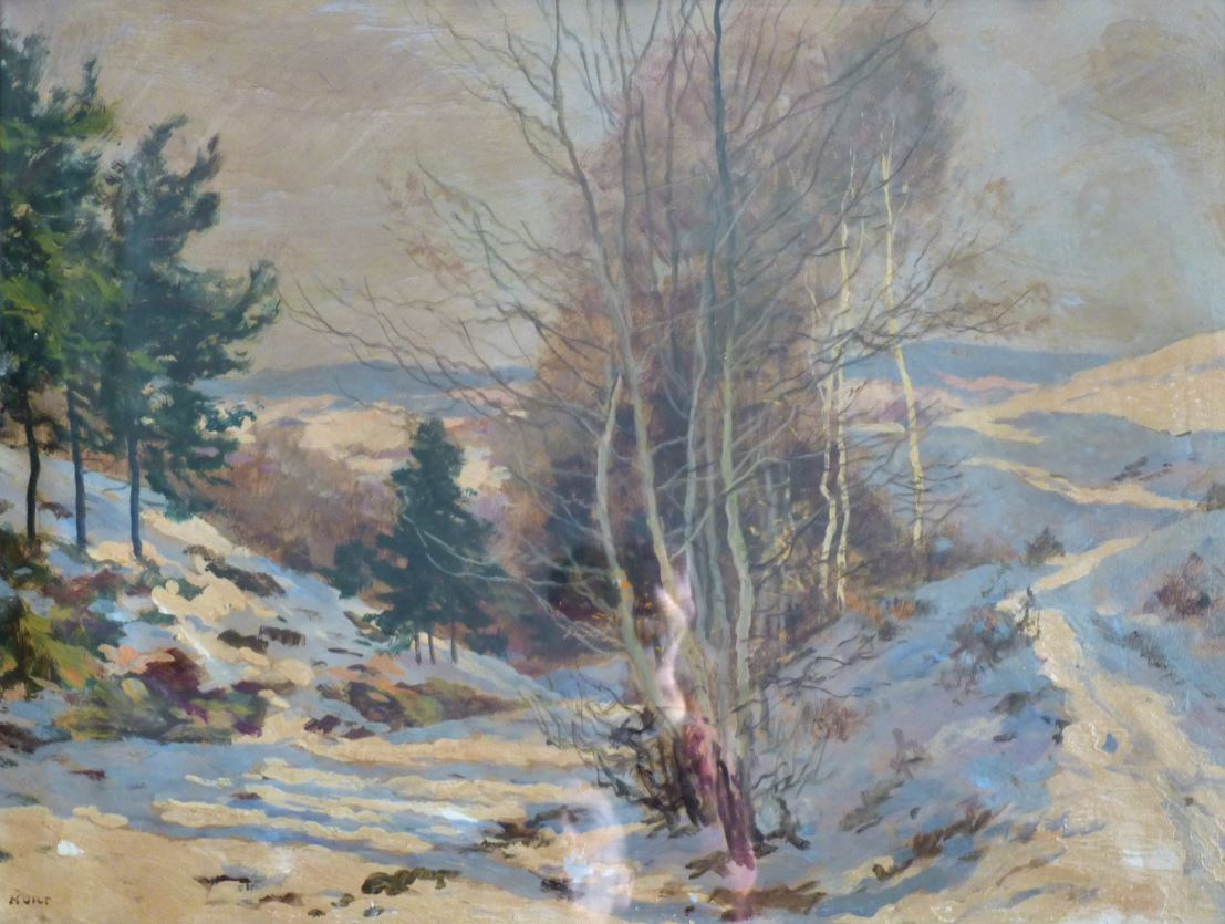 Zima v Měchenicích